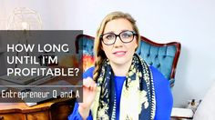How long until I'm profitable? Entrepreneur Q AND A Marketing Techniques, Entrepreneur, This Or That Questions, Business, Videos, Youtube, Inspiration, Fashion, Biblical Inspiration