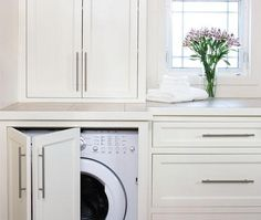 Dream Laundry Room - concealed washer