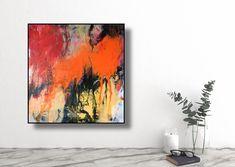 Acryl auf Leinwand 80 x 80 cm 2020 Martina Furk Art