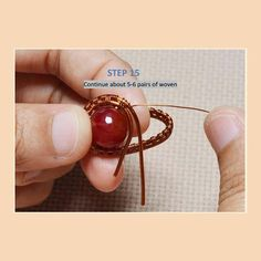 Wire Jewelry Tutorial: Rings of Saturn. Wire ring tutorial