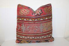16x16 Kilim Pillow, Vintage Pillows, 40x40 cm                                                                                                                                                                                 More