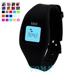 VOMA USA Fitbit Zip WristbandFitbit BandFitbit Zip BandFitbit WristbandFitbit BraceletFitbit Zip Replacement BandBlack ** Find out more about the great product at the image link.