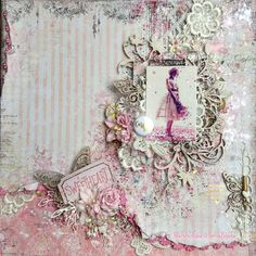Blue Fern Studios: '' In the mood '' to sharing ... Layouts by Tartine Peluche