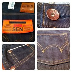 Edwin Selvedge Denim - Vintage Selvedge Denim- Available in store now 52bd057d43af