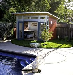 art studio shed | Shed Story: 10' x 12' Studio Shed: An Artful Solution | Studio ...