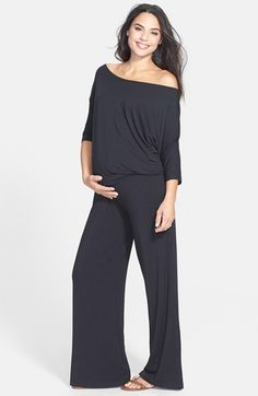 Tart+Maternity+'Michelle'+Maternity+Jumpsuit+available+at+#Nordstrom