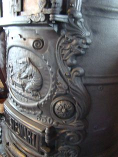 Rusty Iron Ranch Antique Stoves: P.P. Stewart Stove