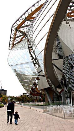 #fondationlouisvuitton #paris Fondation Louis Vuitton, Frank Gehry, Opera House, Fair Grounds, France, Paris, Building, Pictures, Travel