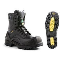 Shop Terra BRIDGE Men's Black Waterproof Work Boots at Lowe's Canada. Find our selection of work boots at the lowest price guaranteed with price match. Safety Toe Boots, Health And Safety, Work Wear, Hiking Boots, Men's Shoes, Combat Boots, Footwear, Bridge, Safety Work