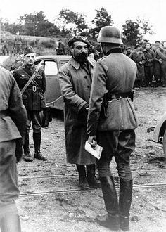 1940, France, Belfort, Reddition de la citadelle aux troupes allemandes