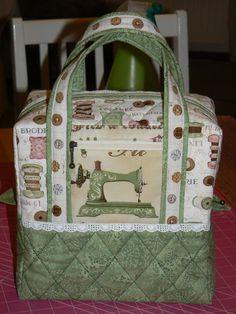 Sewing machine bag