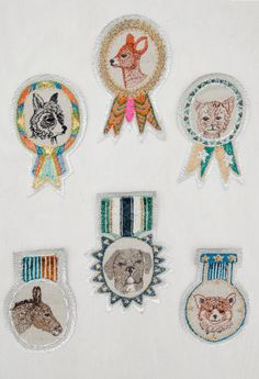 Coral & Tusk embroidered badges - gifts under $30