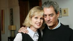 Paul Auster and Siri Hustvedt (writers)