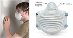 Airwave™ Disposable Dust Masks - Woodworking Power Tool Accessories, Fashion Accessories, Half Mask, Best Masks, Protective Mask, Diy Face Mask, Face Masks, Mask Design, Creative Art