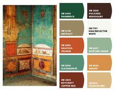 ColorSnap by Sherwin-Williams – ktclements Scheme Color, Color Schemes Colour Palettes, Paint Color Schemes, Colour Pallette, Color Combos, Rustic Color Palettes, Wall Colors, House Colors, Colours That Go Together