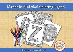Learning To Write, Learning Resources, Teacher Resources, Teaching Ideas, Printable Adult Coloring Pages, Alphabet Coloring Pages, Coloring Books, Word Bingo, Sight Word Flashcards