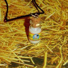 Legend of Zelda  LonLon Milk Bottle Necklace by YellerCrakka, $12.00