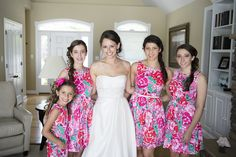 Ashley we need Lilly dresses for the wedding this is so you.  Google Image Result for http://www.nataliefranke.com/wp-content/uploads/2012/06/Preppy-Maryland-Wedding-17.jpg