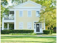 Stay up to date on the various events happening in Toledo Real Estate Real Estate Perrysburg Ohio, Greek Revival Home, New Farm, Historic Homes, Exterior Paint, Porches, Square Feet, Retirement, Yards