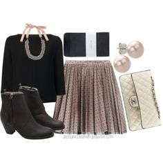 """""""Winter Time Date Outfit"""" by alyssanicolesmith on Polyvore"""