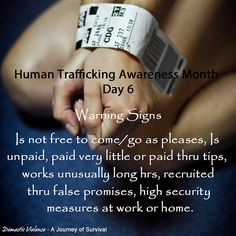Human Trafficking Awareness Month - Day 1 ~ I am a Survivor! Stop Human Trafficking, First Aid Tips, Narcissistic Behavior, Domestic Violence, Human Rights, Life, Social Work, Social Issues, Trauma Therapy