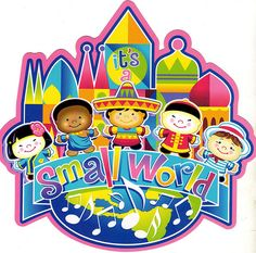 It's A Small World Logo | It's a Small World after all | Flickr - Photo Sharing!