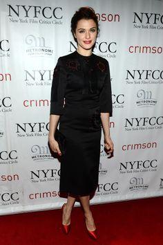Rachel Weisz wearing a Prada dress from the Spring/Summer 2013 collection  New York Film Critics Circle Awards New York January 7, 2013