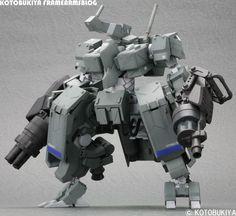 Kotobukiya Frame Arms Blog