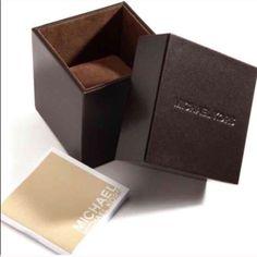 Authentic Michael Kors Watch Box