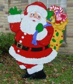 My Business - Yard art, Christmas, Holiday Santa, Cowboy, Fireman, Praying Santa, Dachshund, gingerbread, Joy, Golfing, Golf Cart, Sleigh