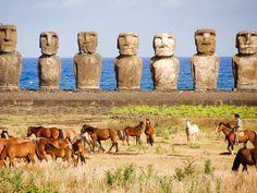 Chili : L'île de Pâques, la dernière frontière du Pacifique : Geo.fr