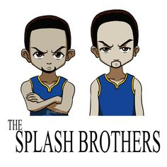 The Splash Brothers by taneel on DeviantArt Splash Brothers, Basketball Memes, Nba Memes, Nba Champions, Stephen Curry, Golden State Warriors, Cool Photos, Family Guy, Curries