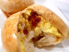 Joyously Domestic: Stuffed Breakfast Rolls    These may be a good camping idea...maybe wrap them in foil and warm them with the fire?