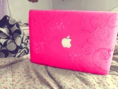 Pink Laptop ~  but I'd wait till I know what school I'm going to so I know what kind of laptop it has to be