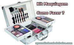 Como Montar um Kit de Maquiagem Completo http://www.aprendizdecabeleireira.com/2016/08/como-montar-um-kit-de-maquiagem-completo.html