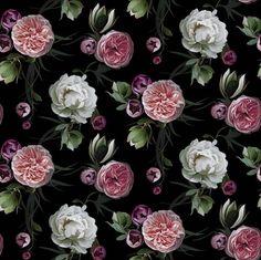 Using this beautiful fabric from Danyna Embrey to create a custom headboard