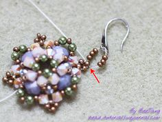 pretty beaded component tutorial