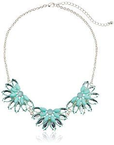 Brighten your day with this fresh mint coloured statement necklace!  #krissylovesbling