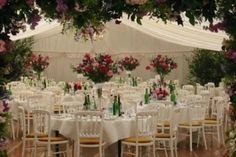 Floral marquee display at Chipchase Castle Wedding Reception Venue in Newcastle, Northumberland Marquee Wedding, Wedding Reception Venues, Wedding Stuff, Wedding Ideas, Newcastle, Tents, Most Beautiful, Wedding Planning, Happiness