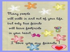 To All My Friends...