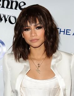 Pin for Later: 10 Celebrity Styles That Will Inspire You to Get Bangs Lots of Lengths