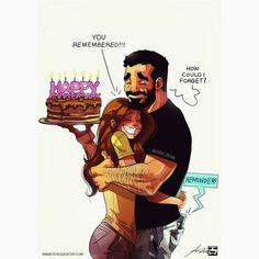 Illustrator Yehuda Devir creates funny relationship comics about him and his wife, Maya. Cute Couple Comics, Couples Comics, Cute Couple Cartoon, Cute Couple Art, Funny Couples, Sweet Couple, Relationship Cartoons, Relationship Drawings, Funny Relationship