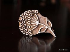 Pottery Stamps Indian Wood Stamp Textile Stamp by charancreations, $13.25