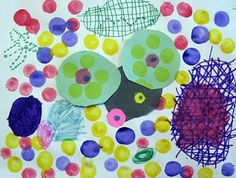 Art is Basic-- Art Teacher Blog: What can you do with a dot?