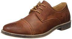 Oferta: 59.9€ Dto: -30%. Comprar Ofertas de ELFLAMENCO ZAPATO PIEL DERBY CABALLERO - Zapatos de cordones para hombre, color marrón, talla 43 barato. ¡Mira las ofertas!