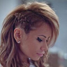 Braided faux hawk |Pinned from PinTo for iPad|