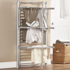 Found it at Wayfair - Heated Clothes Drying Rack