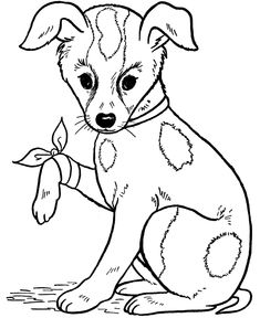 Awesome Free Printable Dog Coloring Pages For Kids