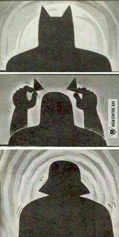 - Batman Funny - Funny Batman Meme - - Can't decide if I'm seeing Darth Vader or Dracula? The post Can't decide if I'm seeing Darth Vader or Dracula? appeared first on Gag Dad. Geek Culture, Dc Memes, Marvel Memes, Funny Memes, Funny Batman, Star Wars Witze, Star Wars Jokes, Dracula, Wattpad
