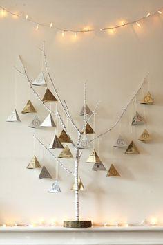 Pyramid Christmas Advent Calendar by BrandyWaterfall on Etsy